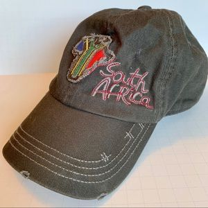 Other - Distressed South Africa baseball cap